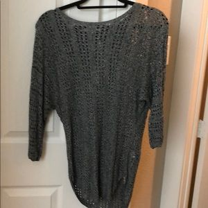 Loose dolman sleeve knit Express sweater